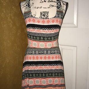 Beautiful tribal patterned dress by loft
